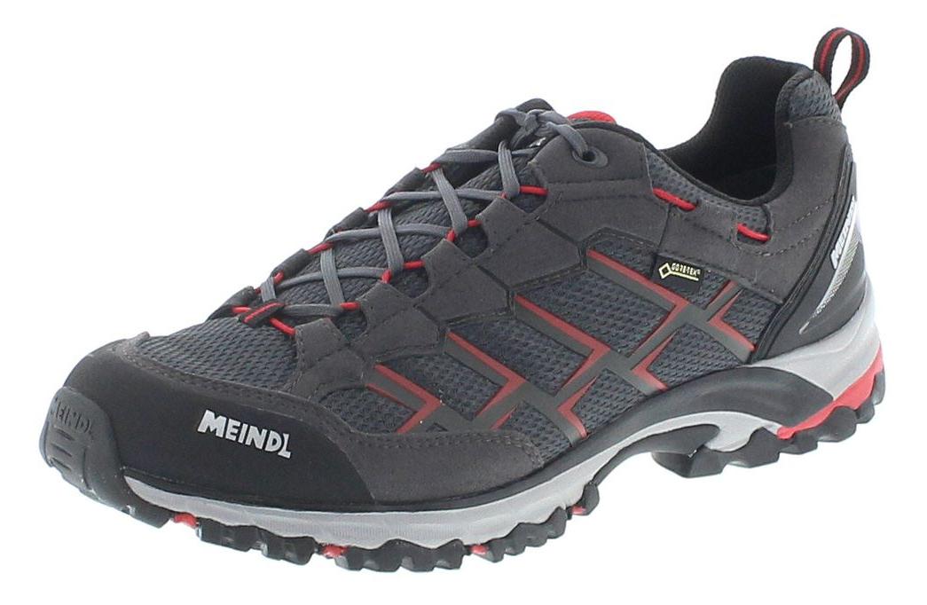 Meindl 3825-01 CARIBE GTX Schwarz Rot Herren Hiking Schuhe