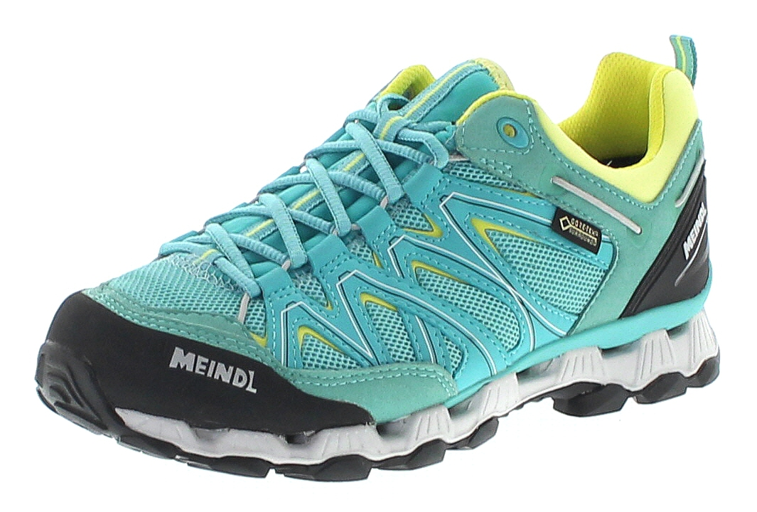 Meindl 3821-64 X-SO SPORTS LADY GTX Mint Gelb Damen Hiking Schuhe