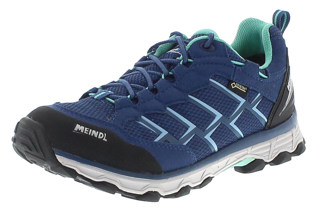 Meindl 5297-29 ACTIVO LADY GTX Jeans Mint Damen Hiking Schuhe - Blau