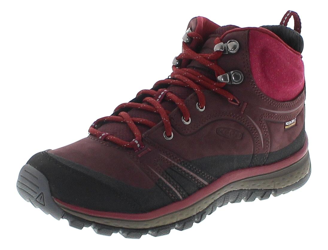 Keen 1017753 TERRADORA LTH MID  WP Grau Damen Trekking Schuhe