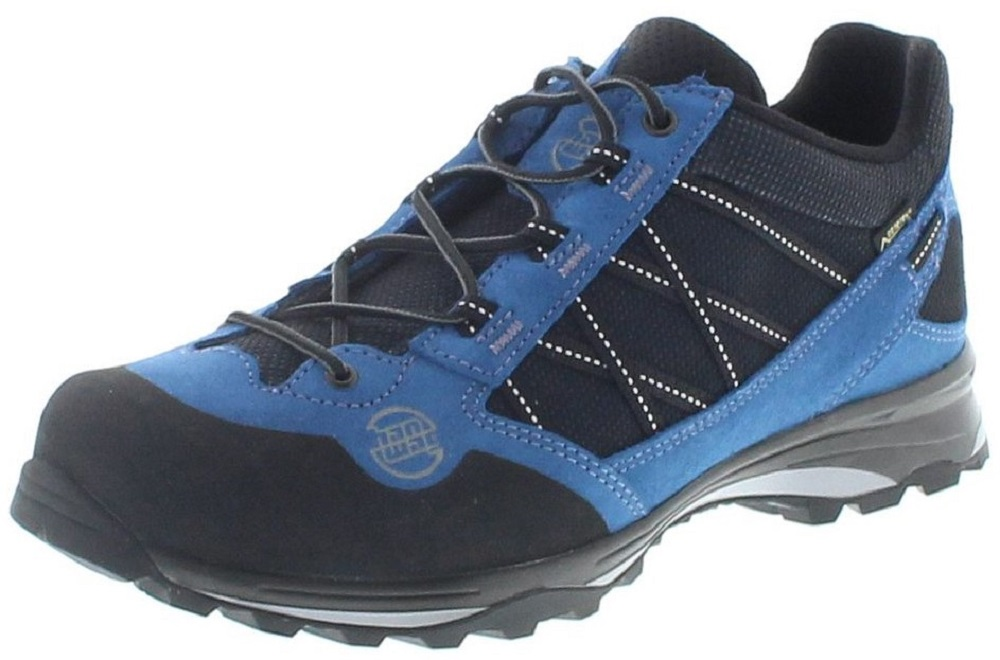 Hanwag BELORADO II LOW GTX UN Blue Black Herren Hikingschuhe Blau