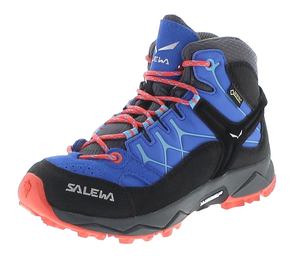 Salewa 64006-3428 JR ALP TRAINER MID GTX Blau Kinder Freizeitschuhe