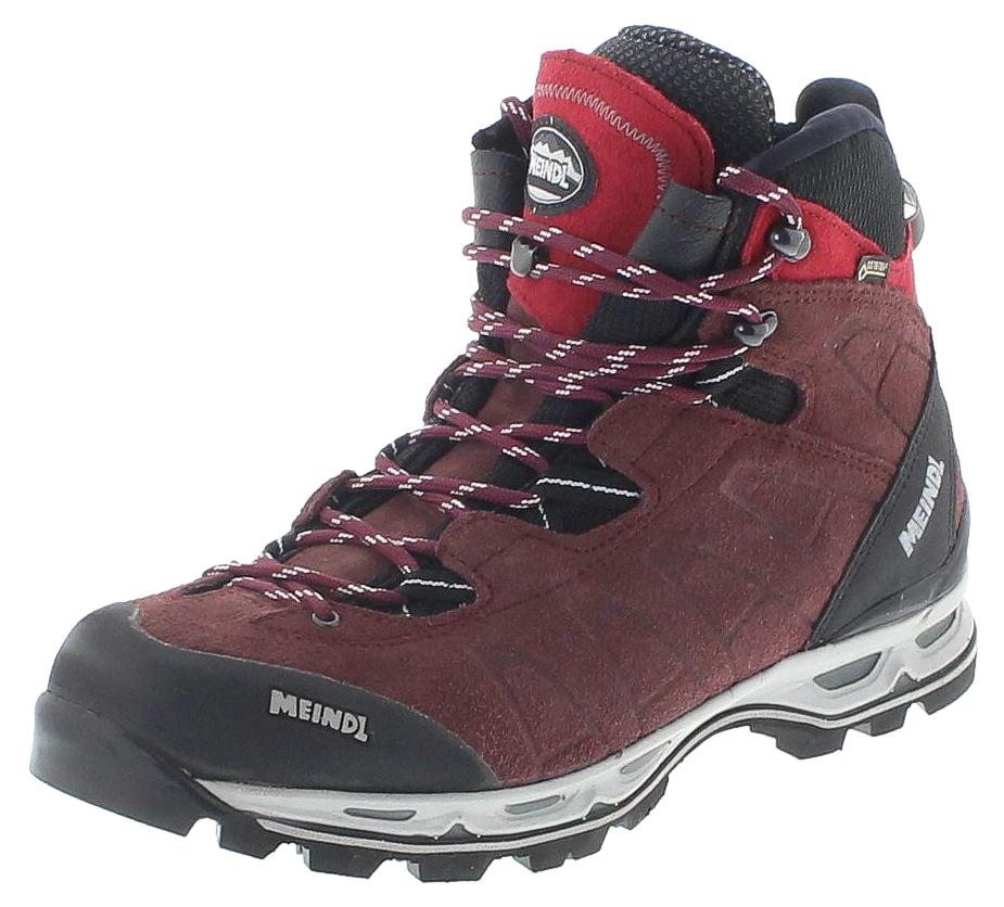 Meindl 3083 17 AIR REVOLUTION LADY ULTRA Aubergine Damen Hiking Stiefel Rot