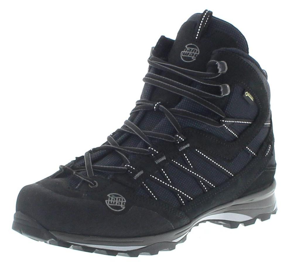 Hanwag 201100-012012 BELORADO II MID BUNION GTX Black Herren Hiking Stiefel - Schwarz