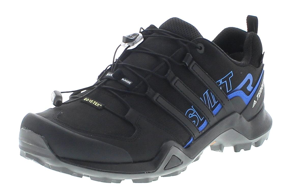 Adidas AC7829 Terrex Swift R2 Black Blue Herren Wanderschuhe - Schwarz