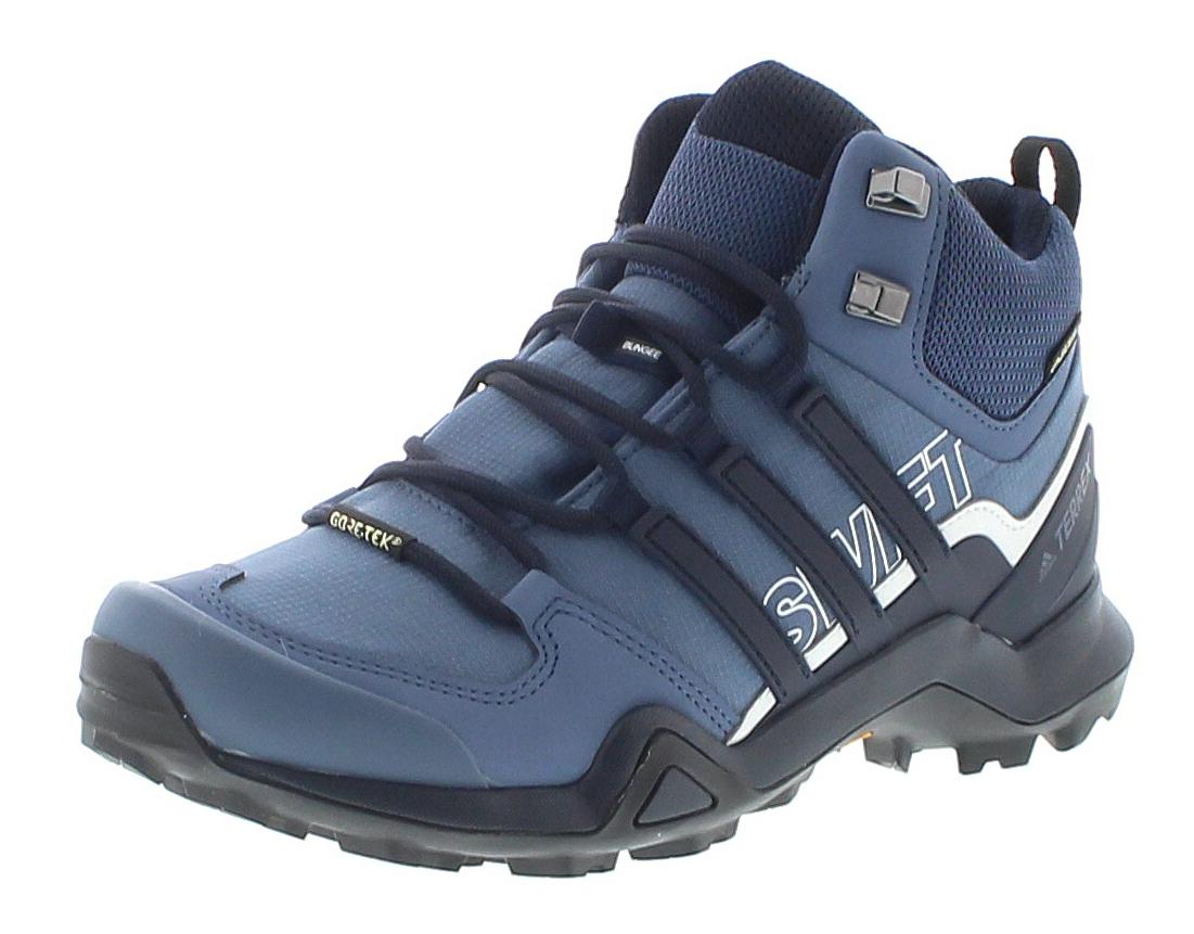 Adidas AC8055 Terrex Swift R2 MID Blue Damen Wanderstiefel - Blau
