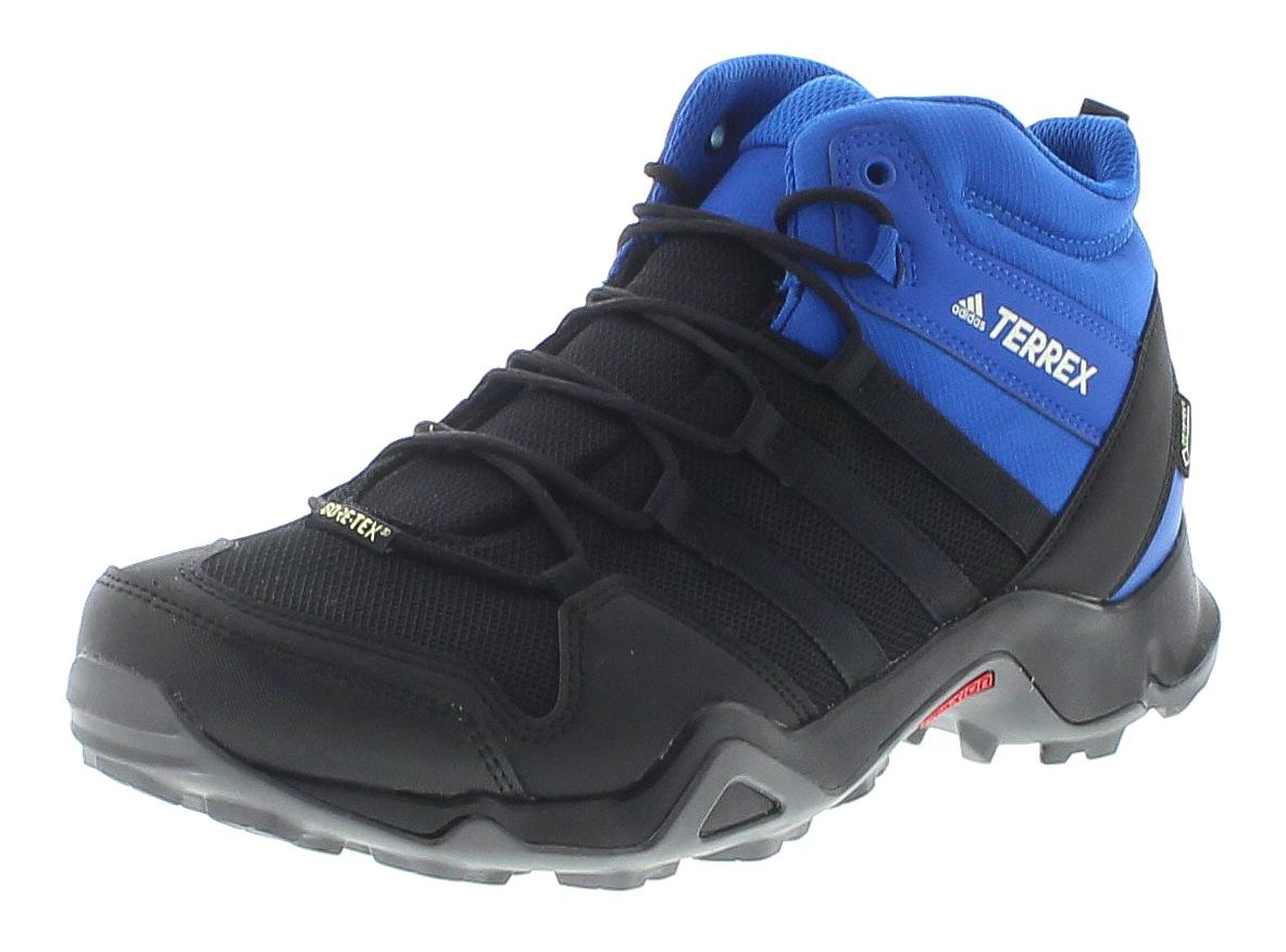 Adidas AC8035 Terrex AX2R MID GTX Blue Black Herren Wanderstiefel - Schwarz