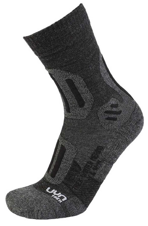 UYN Trekking Winter Merino Man Anthracite Melange Black Herren Socken