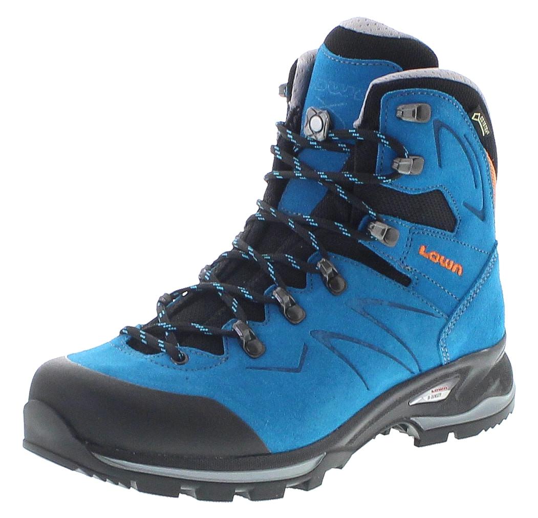 bieten Rabatte Verkaufsförderung Entdecken Lowa 220612-6915 BADIA GTX WS Türkis Mandarine Damen Trekking Schuhe -  Türkis