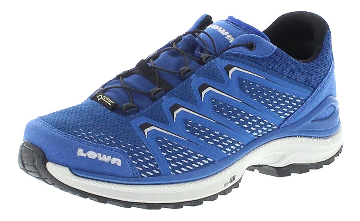 Lowa 310614-6914 MADDOX GTX LO Türkis Silber Herren Hiking Schuhe - Türkis