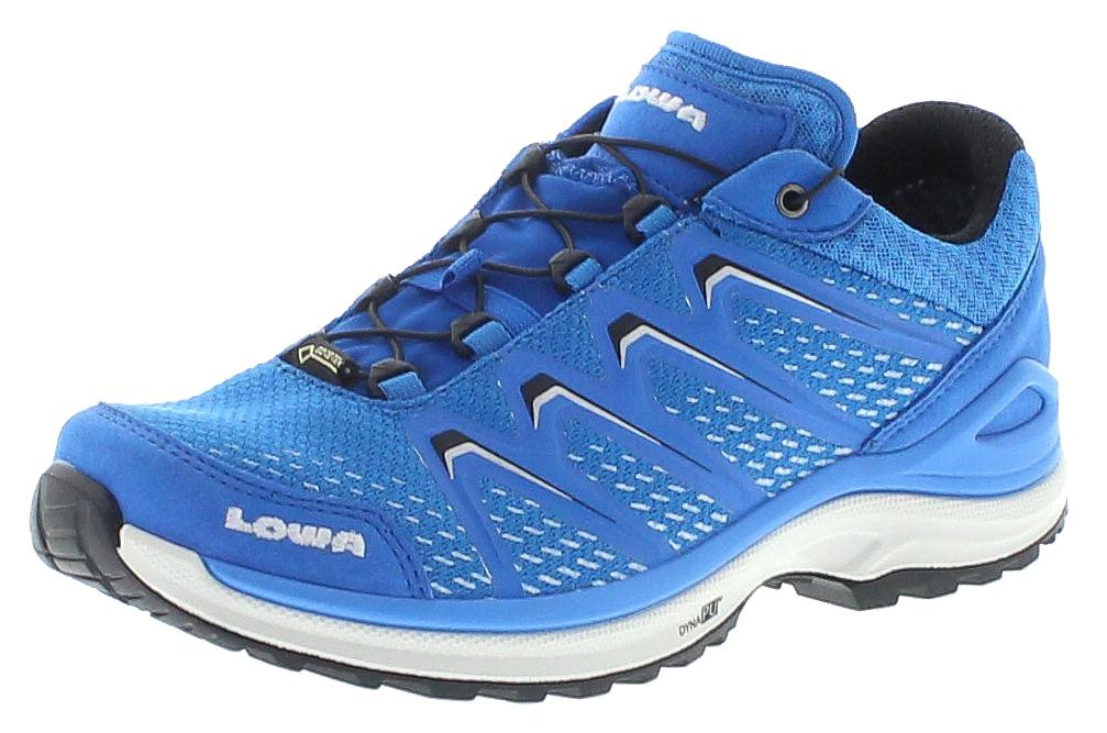 Lowa 320609-6020 MADDOX GTX LO WS Blau Silber Damen Hiking Schuhe - Blau