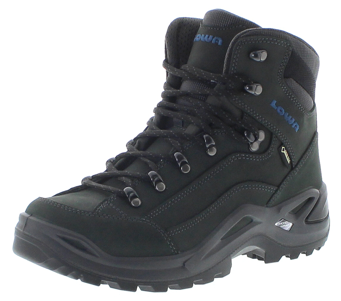 Lowa 310945-9780 RENEGADE GTX MID Anthrazit Stahlblau Herren Hiking Schuhe - Anthrazit