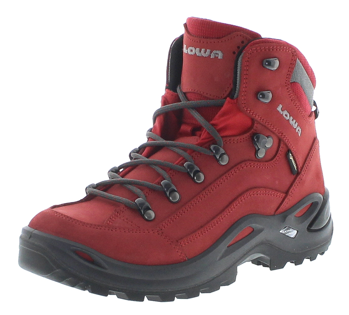 Lowa 320945-0343 Renegade GTX MID Ws Chili Damen Hiking Stiefel