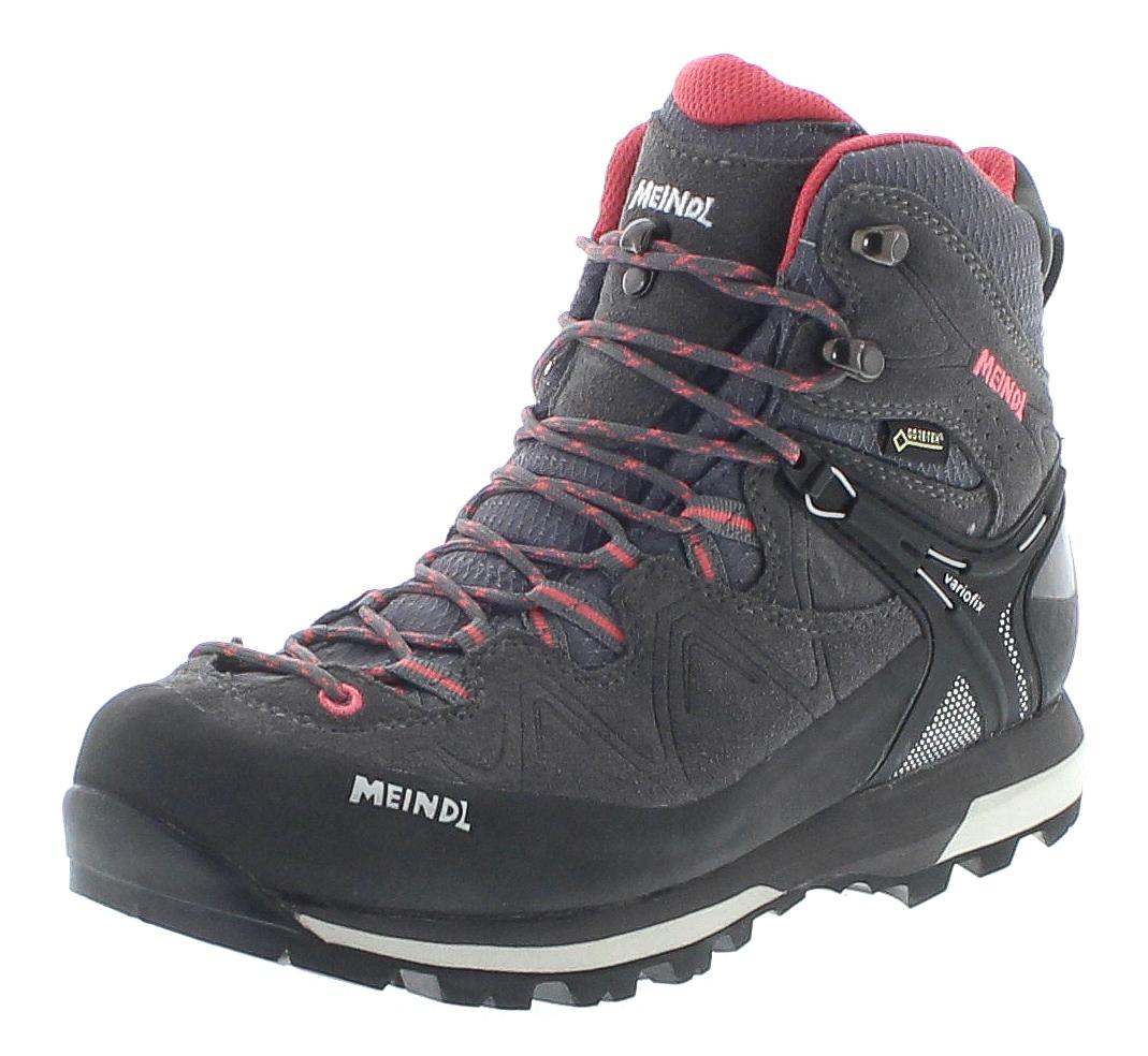 Meindl 3843-31 TONALE LADY GTX Anthrazit Rose Damen Trekking Schuhe - Grau