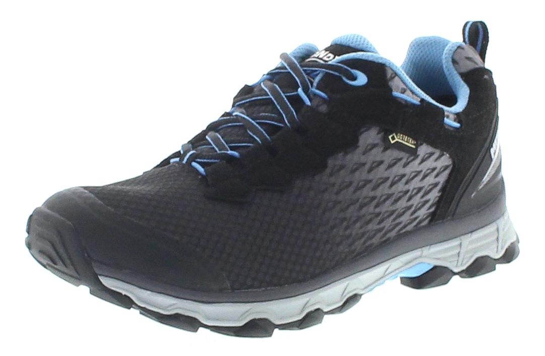 Meindl 5110-01 ACTIVO SPORT LADY GTX Schwarz Azur Damen Hiking Schuhe