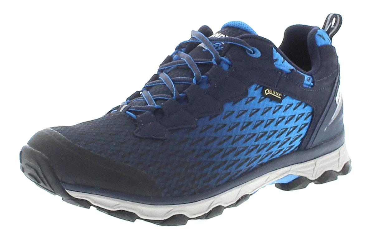 best service ef01b c9666 Meindl 5111-49 ACTIVO SPORT GTX Marine Blau Herren Hiking Schuhe