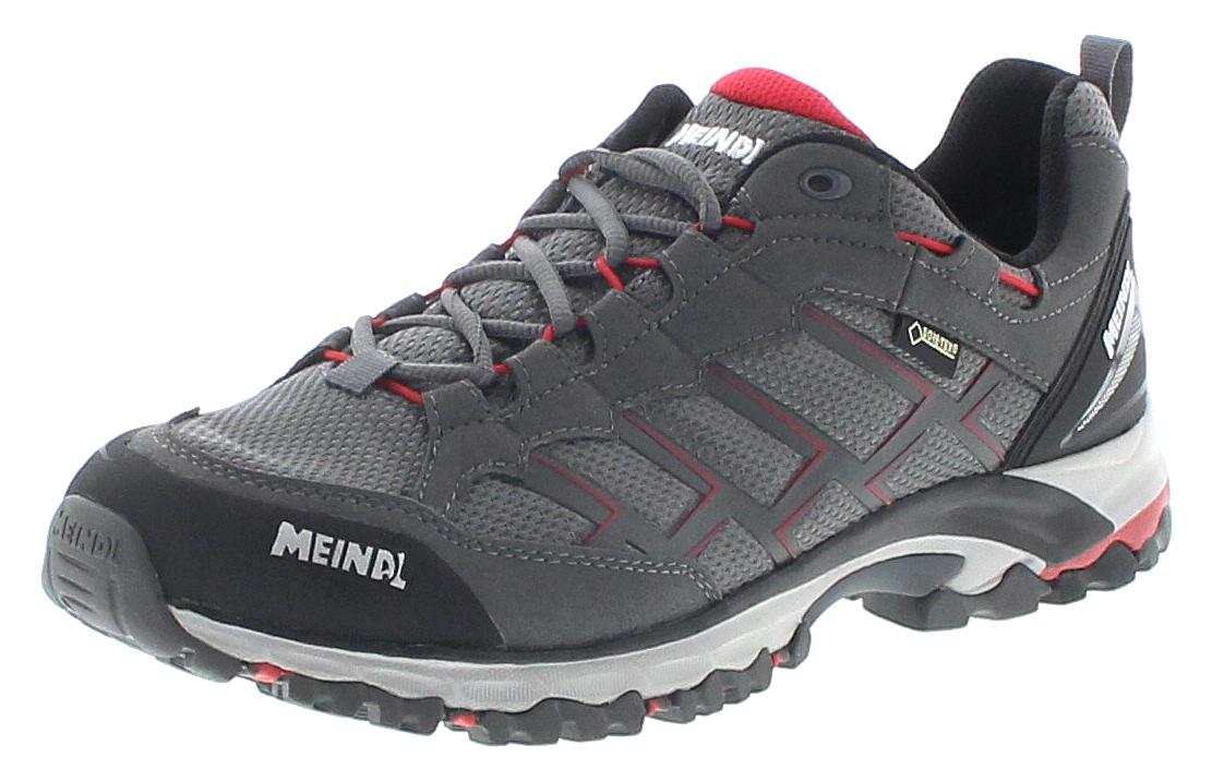 Meindl 3825-31 CARIBE GTX Anthrazit Rot Herren Hiking Schuhe