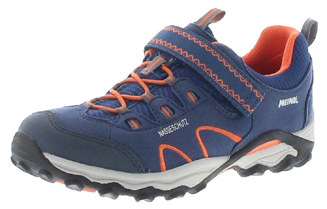 Meindl 2003-49 LUCCA JUNIOR Marine Orange Kinder Hiking Schuhe