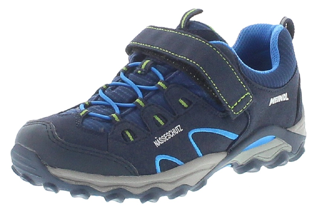 Meindl 2003-68 LUCCA JUNIOR Nachtblau Lemon Kinder Hiking Schuhe
