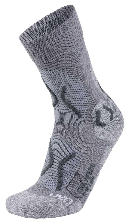 UYN Trekking Cool Merino Lady Light Grey Melange Pearl Grey Damen Socken