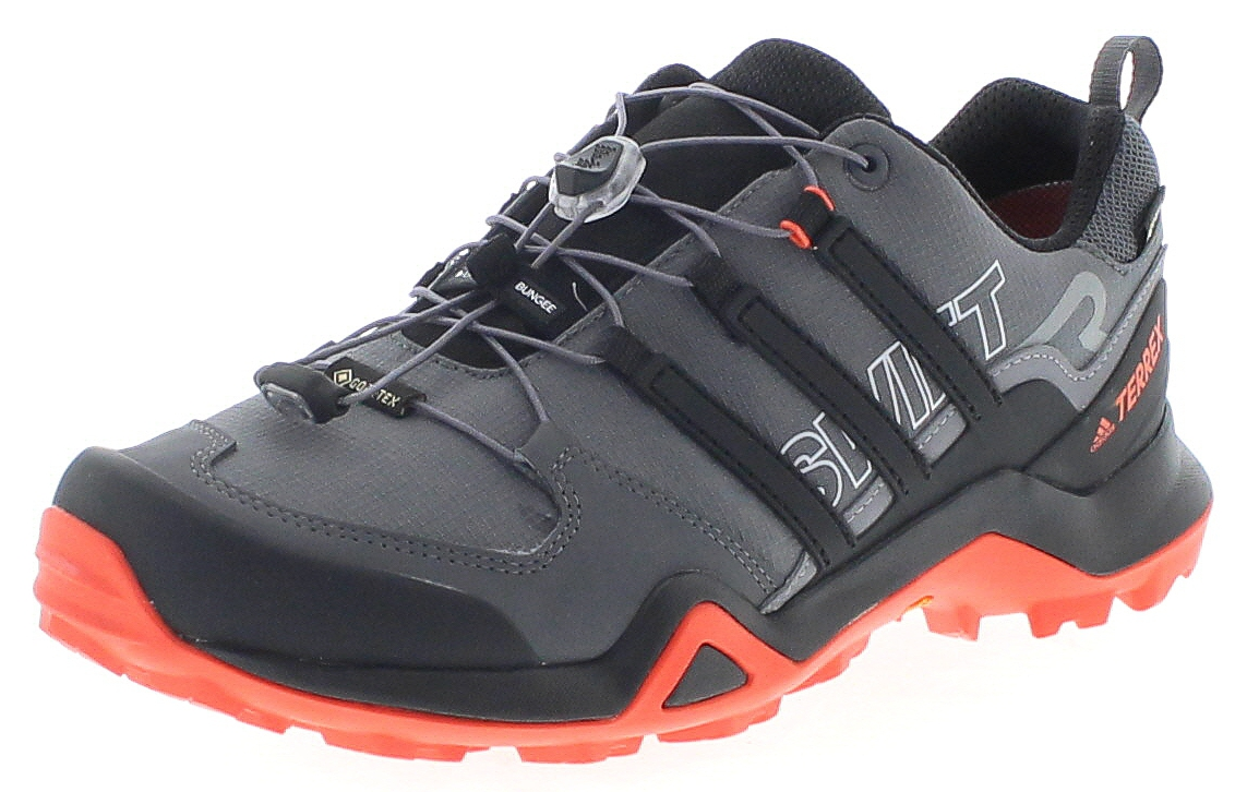 Adidas G28410 Terrex Swift R2 GTX Grey Five Core Black Active Orange Herren Wanderschuhe - Grau
