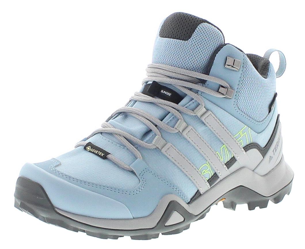 adidas BC0401 Terrex Swift R2 MID GTX W Ash Grey Damen Wanderschuhe Grau
