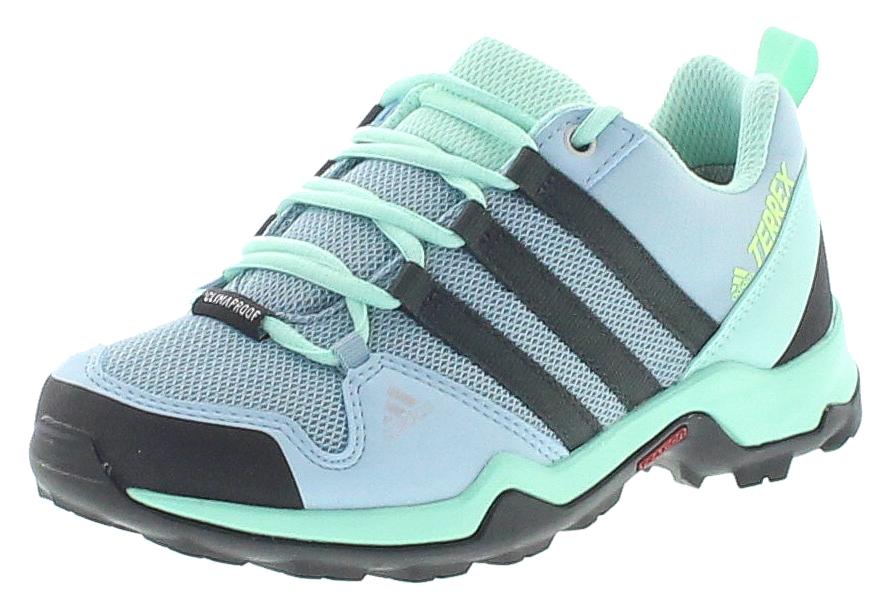 adidas BC0676 TERREX AX2R CP K Blue Carbon Kinder Wanderschuhe Blau