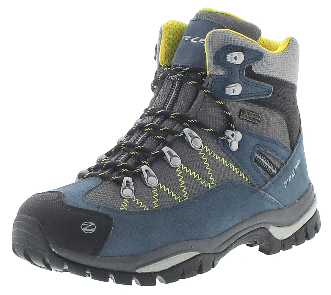 Trezeta 010717011 ADVENTURE WP Blue Yellow Herren Trekking Stiefel