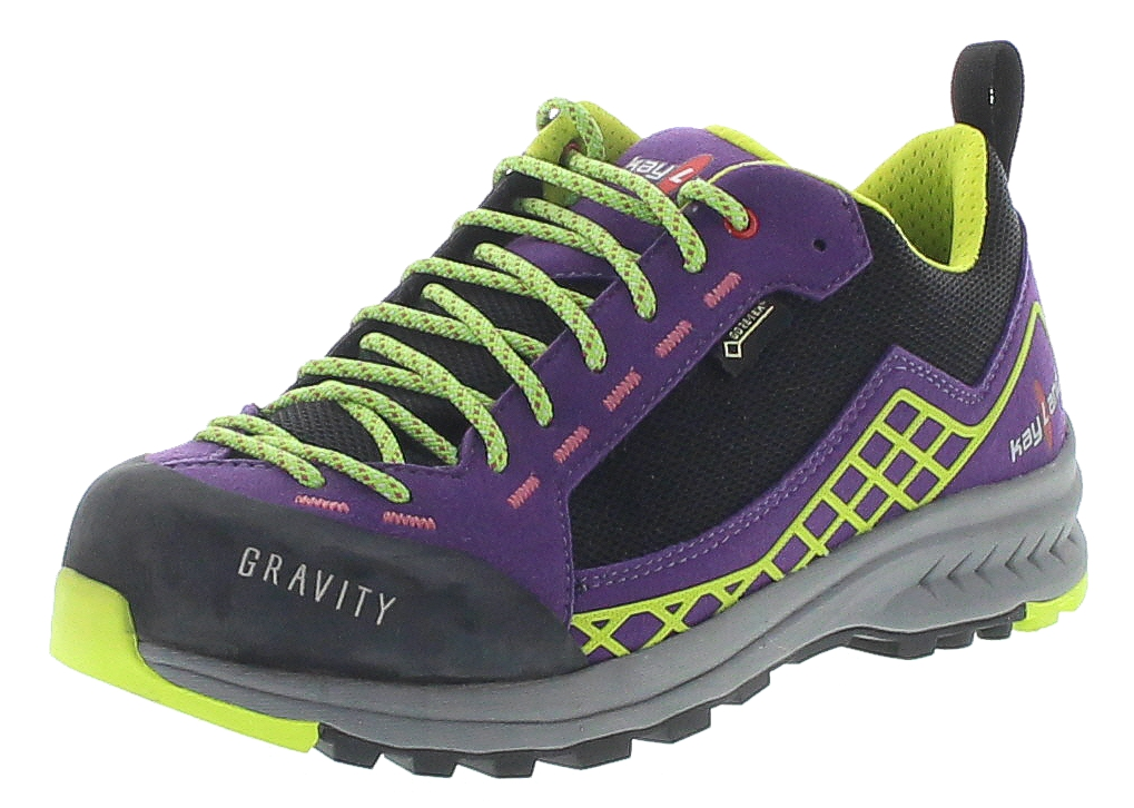 Kayland 018017171 Gravity W's GTX Black Purple Damen Hiking Schuhe