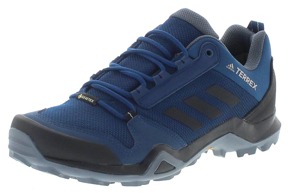 Adidas BC0521 TERREX AX3 GTX Dark Blue Black Herren Wanderschuhe - Blau