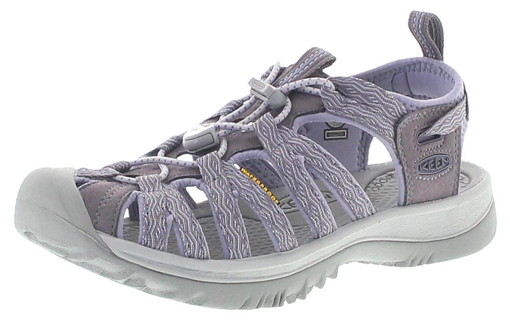 Keen 1020328 WHISPER W Shark Lavender Grey Damen Outdoor-Sandalen - Lila
