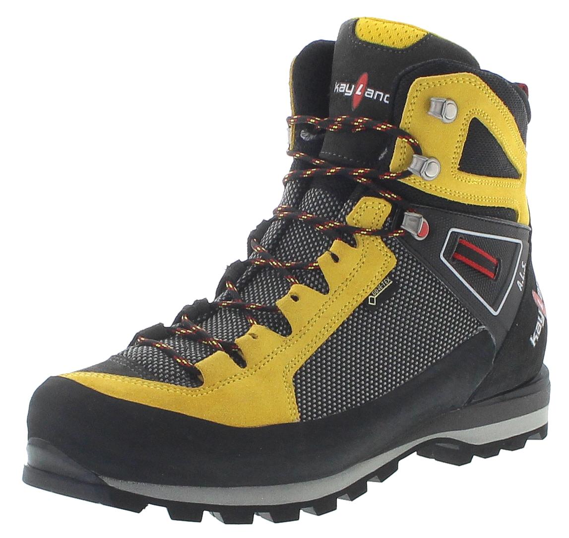 Kayland 018019032 Cross Mountain GTX Yellow Herren Trekking Schuhe