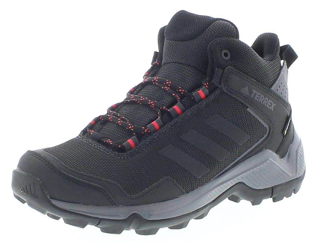 Adidas F36761 TERREX EASTRAIL MID GTX W Schwarz Grau Damen Wanderstiefel - Schwarz