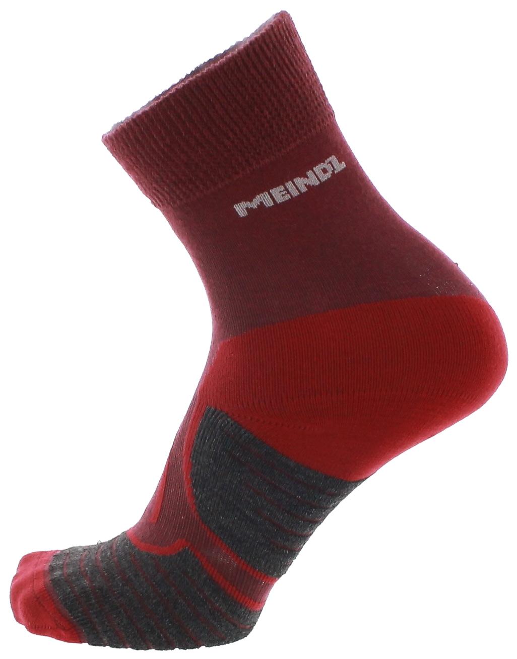 Meindl MT2 TREKKING BASIC Socke Lady Aubergine