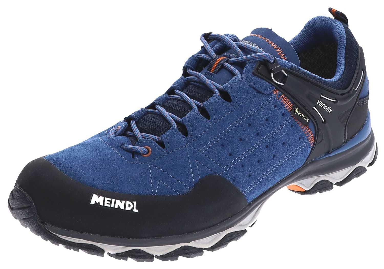 Meindl ONTARIO GTX Cobalt Orange Herren Hikingschuhe Blau