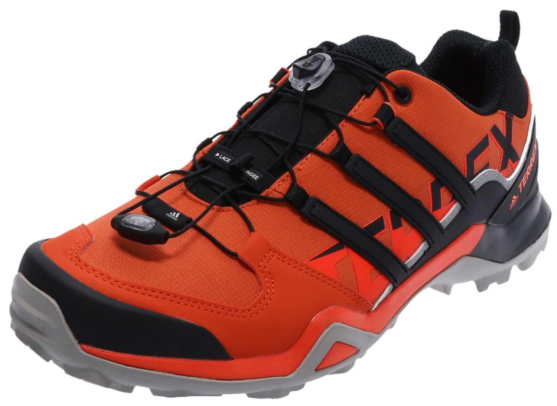 adidas TERREX SWIFT R2 Amber Black Red Herren Hikingschuhe Rot