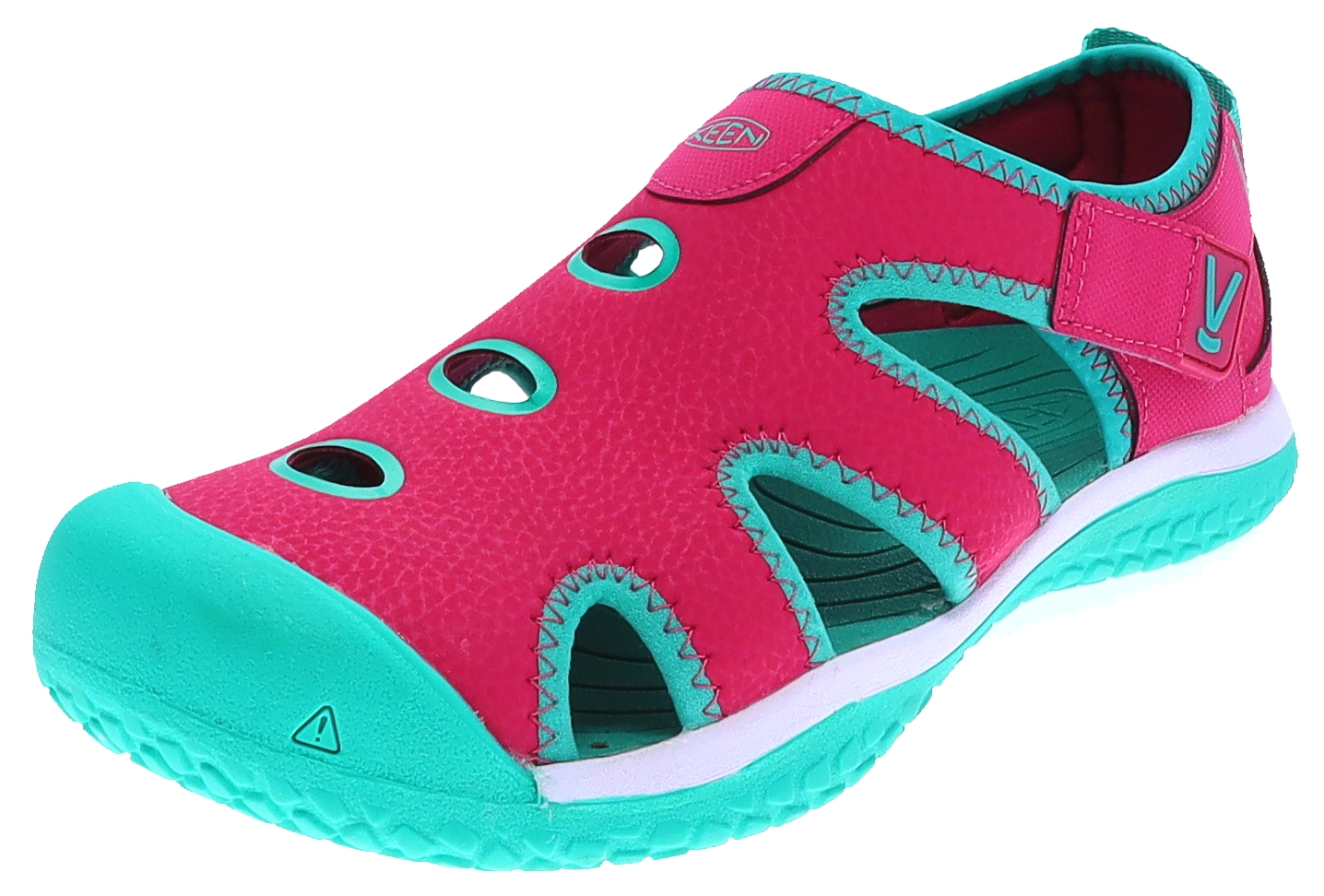 Keen STINGRAY Very Berry Peacock Green Kinder Sandale Rosa