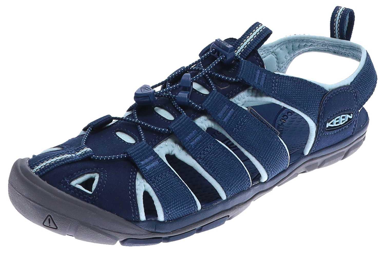 Keen CLEARWATER CNX W Navy Blue Glow Damen Outdoor-Sandale Blau
