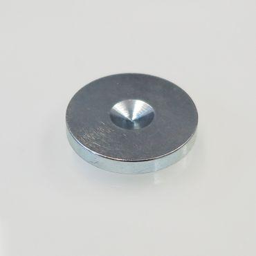 SinnOxx® Mini U-Scheiben für Spikes Silber