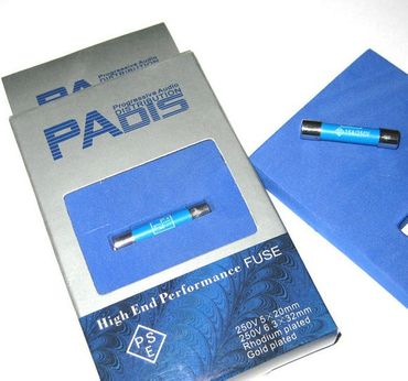 PADIS Progressive Audio Distribution High-End Performance US Feinsicherung 6,3x32mm