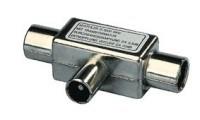 Koax-Verteiler - 1 Stecker auf 2 Kupplungen