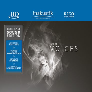 Reference Sound Edition - Great Voices Volume 1 (HQCD) - inakustik CD