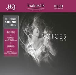 Reference Sound Edition - Great Voices Volume II (HQCD) - inakustik CD