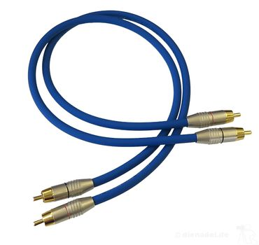 Sommer Cable Club Series BLAU Cinchkabel dienadel