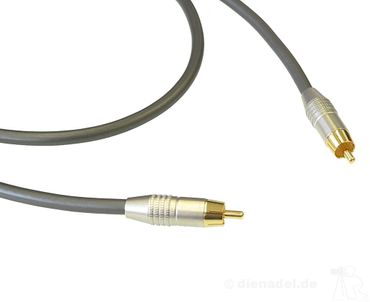 Goldkabel Profi SINGLE-Subwooferkabel - dienadel-Edition