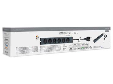 inakustik Exzellenz Netzleiste AC - 25.6 - Aluminiumgehäuse – Bild 4