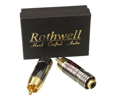Rothwell In-Line Pegelminderer Cinch - Paar – Bild 1