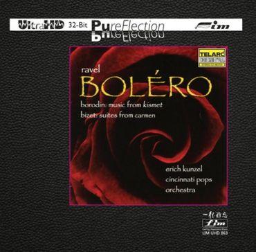 Erich Kunzel & Cincinnati Pops Orchestra - Ravel: Bolero - LIM UHD 063 - Ultra-HD-CD