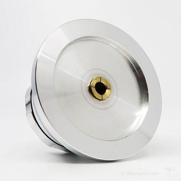 Acoustic-Signature Grip MK3 - HighEnd-Plattenklemme - Diamant gedreht glänzend – Bild 4