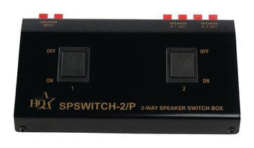 HQ LSQ2 - 2-fach Lautsprecherverteiler – Bild 1